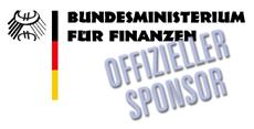 Offizieller Sponsor des Bundesfinanzminsteriums